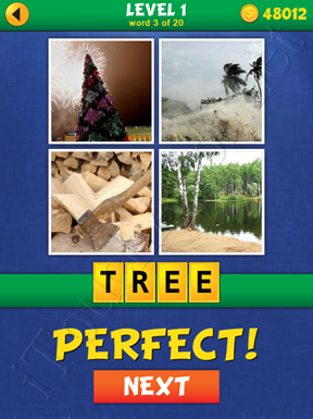 4 Pics Mystery Level 1 Word 3 Solution