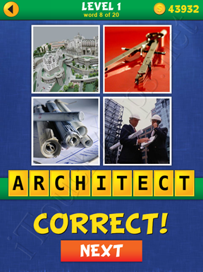 4 Pics Mystery Level 1 Word 8 Solution