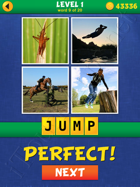 4 Pics Mystery Level 1 Word 9 Solution