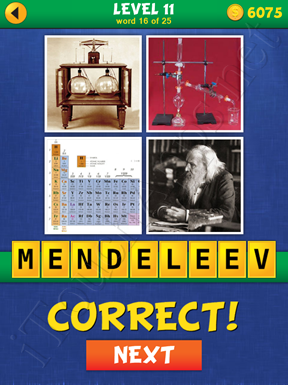 4 Pics Mystery Level 11 Word 16 Solution