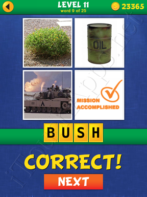 4 Pics Mystery Level 11 Word 9 Solution