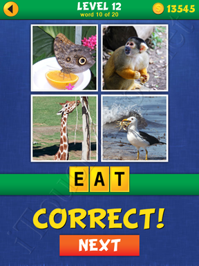4 Pics Mystery Level 12 Word 10 Solution
