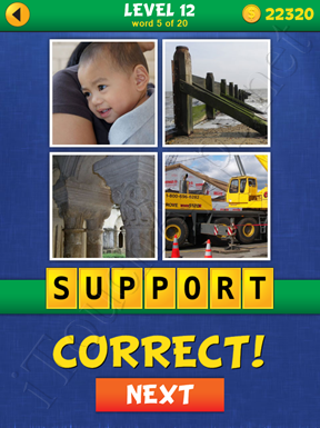 4 Pics Mystery Level 12 Word 5 Solution