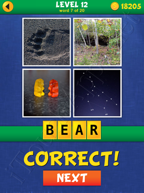 4 Pics Mystery Level 12 Word 7 Solution