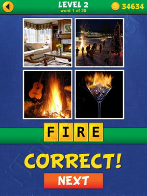 4 Pics Mystery Level 2 Word 1 Solution