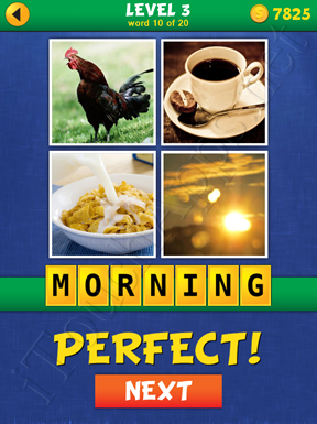 4 Pics Mystery Level 3 Word 10 Solution