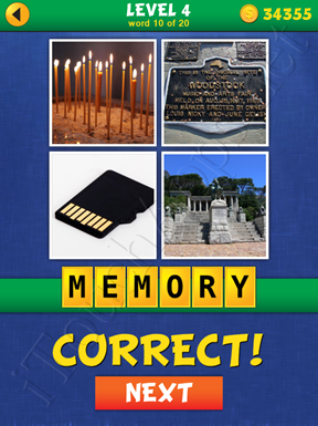 4 Pics Mystery Level 4 Word 10 Solution