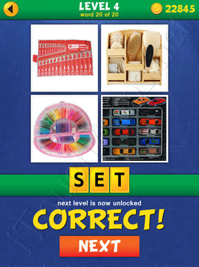 4 Pics Mystery Level 4 Word 20 Solution