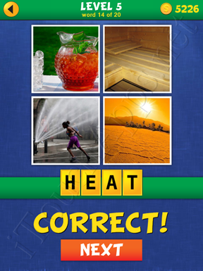 4 Pics Mystery Level 5 Word 14 Solution