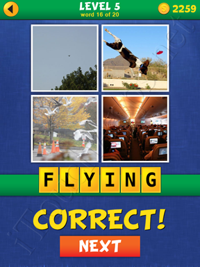 4 Pics Mystery Level 5 Word 16 Solution