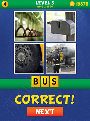 4 Pics Mystery Level 5 Word 2 Solution