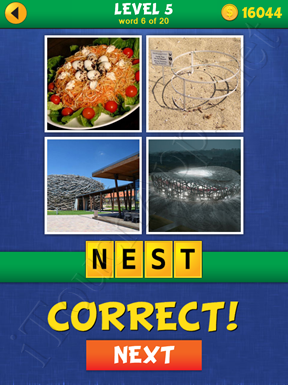 4 Pics Mystery Level 5 Word 6 Solution