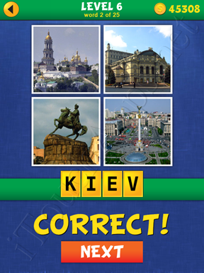 4 Pics Mystery Level 6 Word 2 Solution