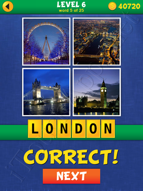 4 Pics Mystery Level 6 Word 5 Solution