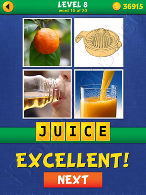4 Pics Mystery Level 8 Word 15 Solution