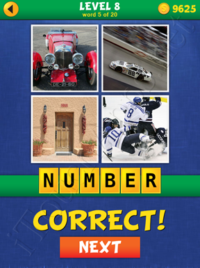 4 Pics Mystery Level 8 Word 5 Solution