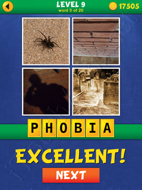 4 Pics Mystery Level 9 Word 5 Solution