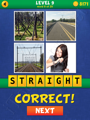 4 Pics Mystery Level 9 Word 9 Solution