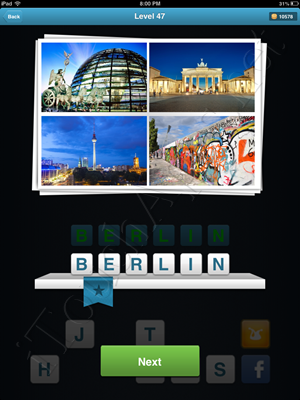 City Quiz Level 47 Answer
