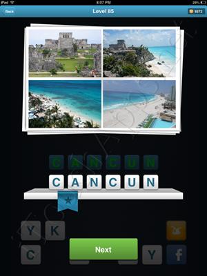 City Quiz Level 85 Solution