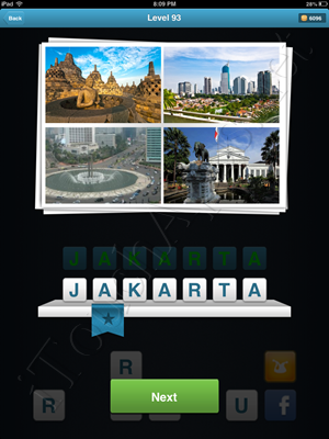 City Quiz Level 93 Solution