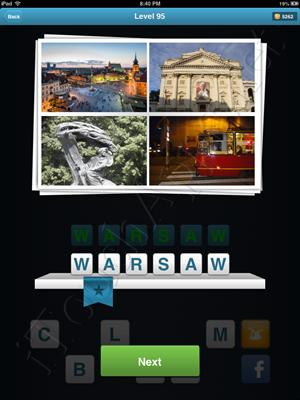 City Quiz Level 95 Solution