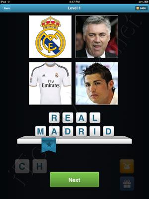 Football Quiz Level 1 Solution
