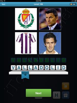 Football Quiz Level 106 Solution