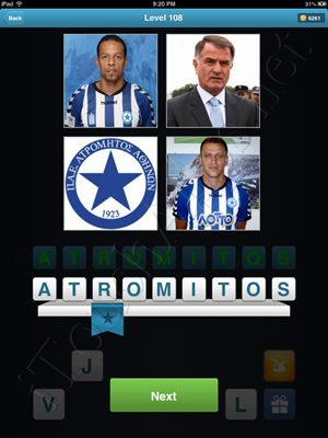 Football Quiz Level 108 Solution