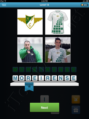 Football Quiz Level 12 Solution