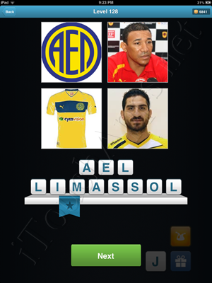 Football Quiz Level 128 Solution