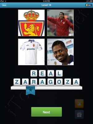 Football Quiz Level 18 Solution