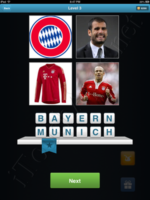 Football Quiz Level 3 Solution