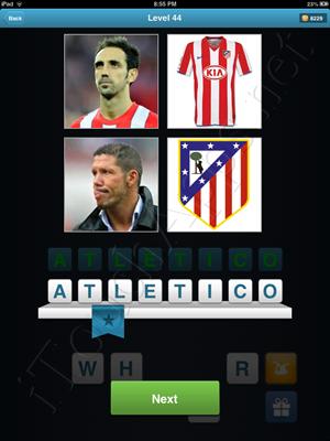 Football Quiz Level 44 Solution