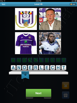 Football Quiz Level 49 Solution
