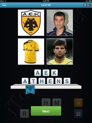 Football Quiz Level 68 Solution