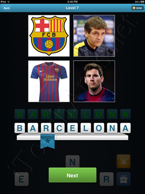 Football Quiz Level 7 Solution