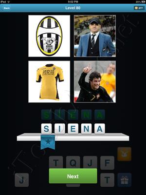 Football Quiz Level 80 Solution