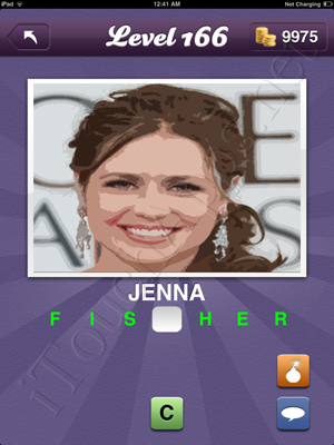 Guess the Celeb Level 166 Answer