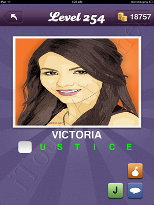 Guess the Celeb Level 254 Answer