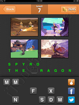 Guess the Game Level 7 Answer