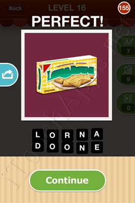 Hi Guess the Food Level 16 Pic 155 Answer