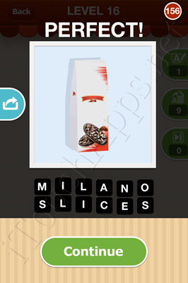Hi Guess the Food Level 16 Pic 156 Answer