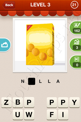 Hi Guess the Food Level 3 Pic 21 Answer