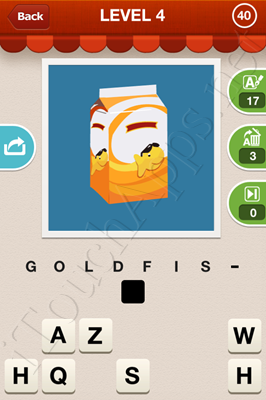 Hi Guess the Food Level 4 Pic 40 Answer