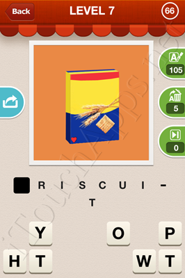 Hi Guess the Food Level 7 Pic 66 Answer