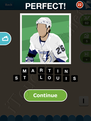 Hi Guess the Hockey Star Level Level 3 Pic 9 Answer