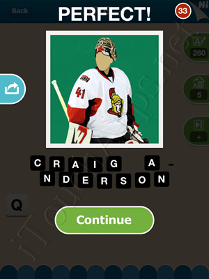 Hi Guess the Hockey Star Level Level 4 Pic 10 Answer