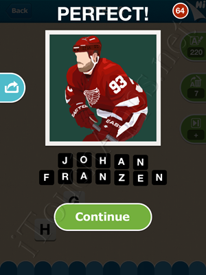 Hi Guess the Hockey Star Level Level 8 Pic 1 Answer