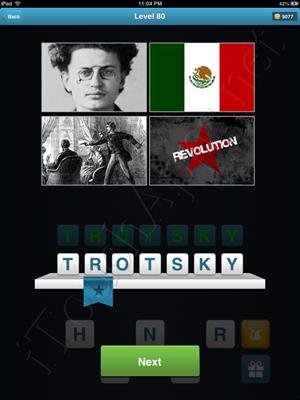 History Quiz Level 80 Solution